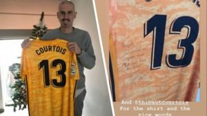 Thibaut Courtois heeft mooi cadeau voor Cercle-doelman die knokt tegen leukemie
