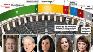 Alle 93 een vergoeding gevraagd, terwijl slechts vier ex-parlementairen écht werk zoeken