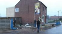 Automobilist ramt voorgevel van dierenpension in Boorsem