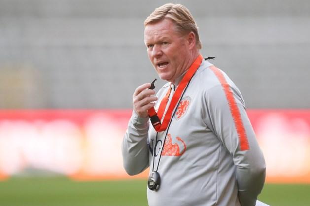 """Nederlands bondscoach Ronald Koeman: """"Als ik een favoriet moet noemen voor EURO 2020, is het België"""""""