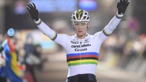Mathieu van der Poel wint voor de negende keer op rij in Diegem