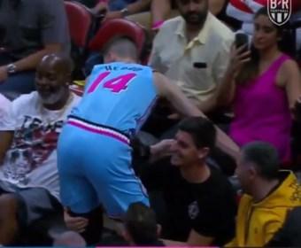 Thibaut Courtois met uitstekende save…tijdens een NBA-wedstrijd!