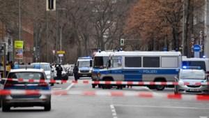Berlijn in rep en roer na gewapende overval: dader op de vlucht