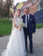 Carmela en Gabriele in Genk