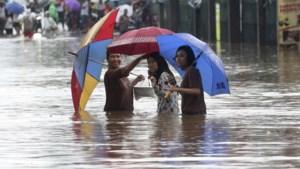 21 doden en 30.000 daklozen door overstromingen in Indonesische hoofdstad Jakarta