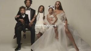 Beyoncé toont zeldzame foto van voltallig gezin