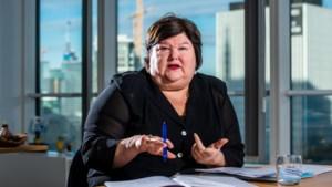 """Maggie De Block: """"Tommelein heeft carrure om voorzitter te worden"""""""