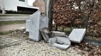 Vandalen laten spoor van vernielingen achter in Grensstraat: brievenbussen zijn doelwit
