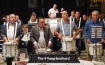De gebroeders Vang 149 jaar lid bij Drumband KF Sint Cecilia Kanne