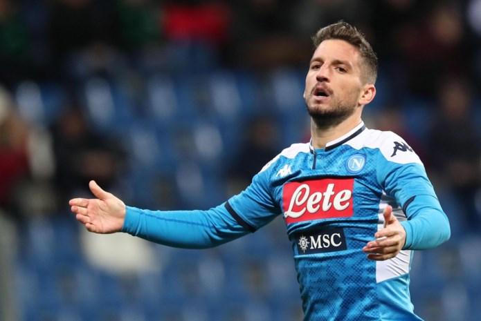 Dries Mertens mist topper tegen Inter