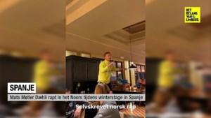 VIDEO. Genk-aanwinst Daehli rapt in het Noors tijdens winterstage in Benidorm