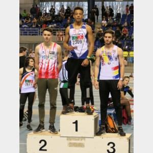 Ekselse Lamine start veelbelovend aan indoorseizoen atletiek