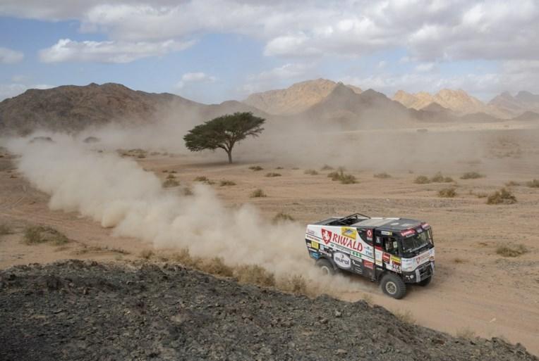 Carlos Sainz is steviger leider in Dakar-rally na winst in vijfde etappe, Fernando Alonso haalt opnieuw top tien