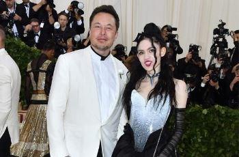 Vriendin Elon Musk kondigt zwangerschap aan met opvallende foto