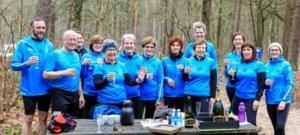 Heppense Joggers vieren Nieuwjaar in het bos