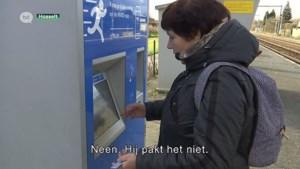 Ticketautomaat treinstation Kiewit werkt maar half