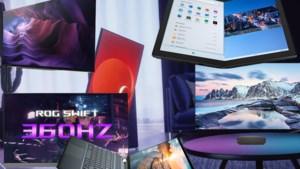 Van verticale video tot p<B>erfecte projectie</B>: schermen stelen de show op 's werelds grootste gadgetbeurs