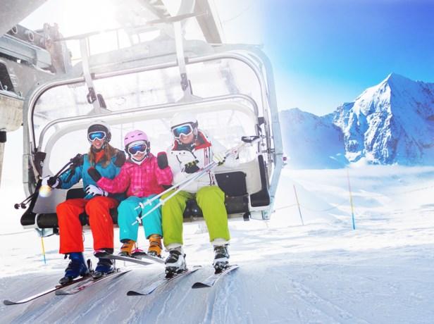 Checklist voor een skivakantie met kinderen