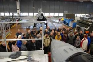 Pasar bezocht de militaire vliegbasis van Kleine-Brogel