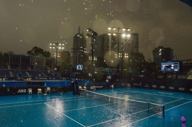 Kwalificaties Australian Open stopgezet door… de regen, Kimmer Coppejans door