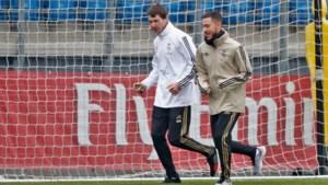 Daar is ie weer: Eden Hazard terug op het trainingsveld bij Real Madrid