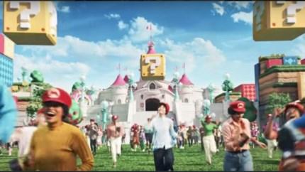 Speel zelf Mario in Nintendo-pretpark