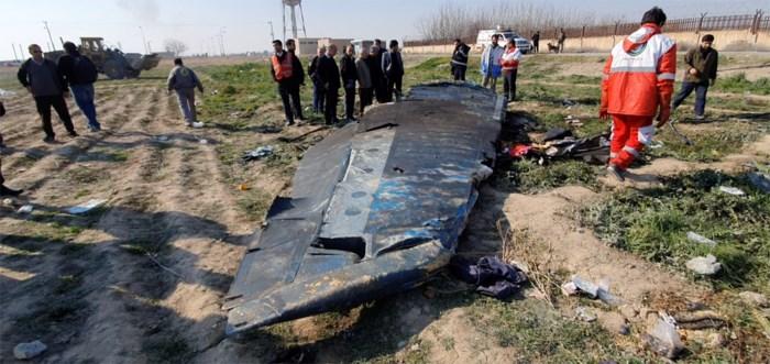 Neergehaalde vliegtuig Iran: Kiev wil zwarte dozen verkrijgen