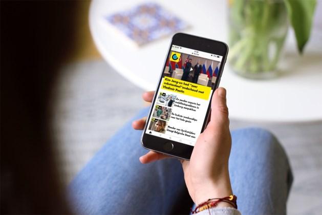 Technische problemen in app, lezen op hbvl.be kan wel