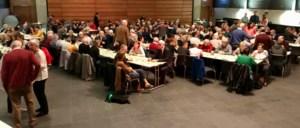 Bos- en Heikabouters klinken op het nieuwe jaar