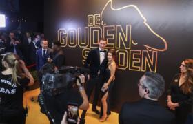 Voetballers en veel glitter en glamour op het gala van de Gouden Schoen: Bekijk het hier