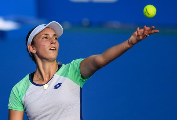 Elise Mertens strandt in kwartfinale in Hobart
