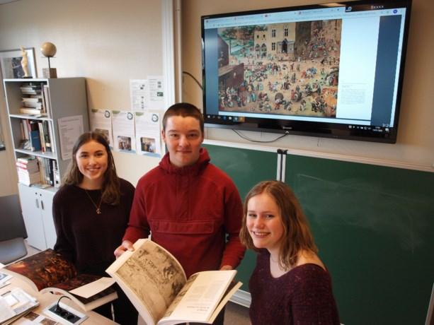 Kijken, lezen, schrijven…een Bruegeliaanse ervaring