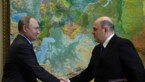 Niemand stemt tegen Poetins nieuwe pion