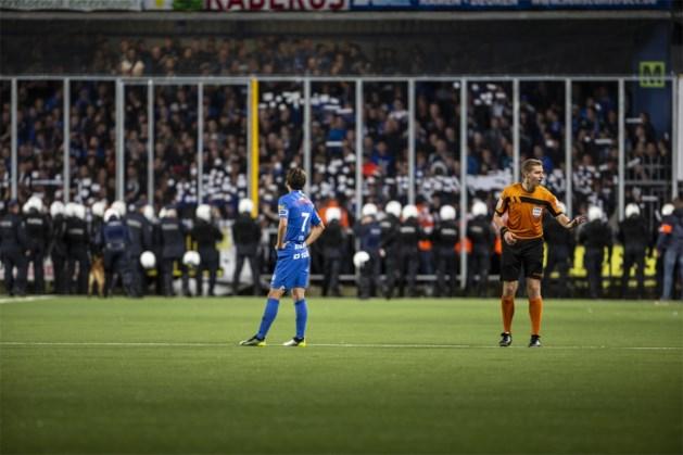 STVV-tribune deels gesloten tegen Kortrijk, Genkse staanvakken dicht tegen Charleroi