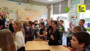 Oudsbergse leerlingen schrijven en zingen liedje in het 'Mievers'