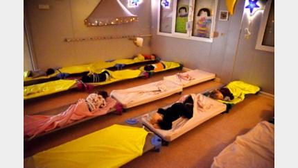 Hasselt zoekt vrijwilligers zodat kleuters dutje kunnen doen op school