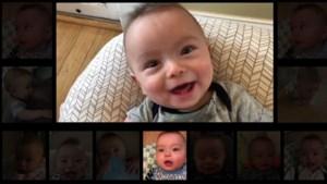 Baby 'zingt' Thunderstruck van AC/DC