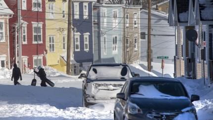 OPROEP. Oostkust van Canada getroffen door extreme sneeuwstorm die alle records breekt