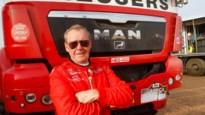 Noël Essers vierde trucker aan het strand van Dakar