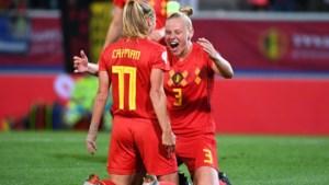 Red Flames oefenen tegen Noorwegen in Oostende