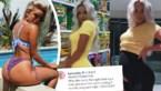 """Bikinimodel toont dat je in 5 uur van """"om op te eten"""" naar """"6 maanden zwanger"""" kunt gaan"""