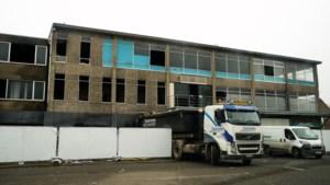 Gebouw in Beringen waar twee brandweermannen stierven wordt gesloopt