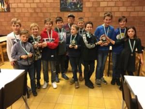 BS Achellier Achel en WICO Pelt doen het goed op kampioenschap schaken voor scholen