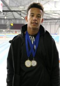 Lamine haalt goud op Vlaams kampioenschap indoor