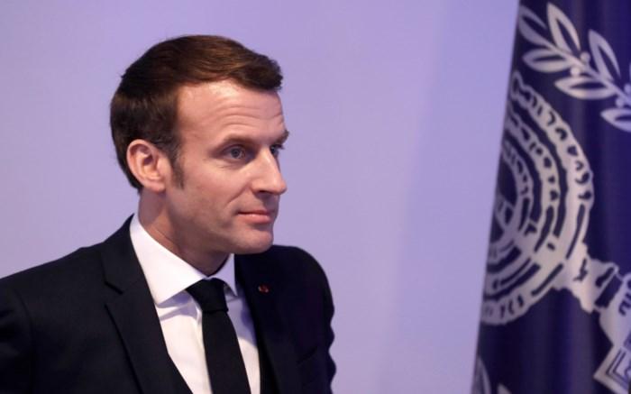 """Macron in Jeruzalem: """"Negatie van bestaan van staat Israël is antisemitisme"""""""