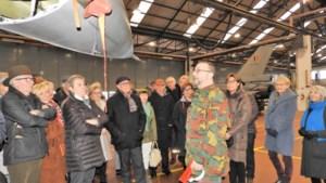 Markant bezoekt vliegbasis Kleine-Brogel