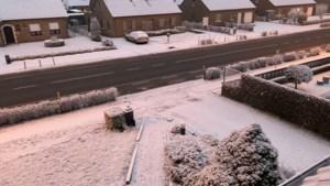 Daar is de eerste sneeuw in Limburg