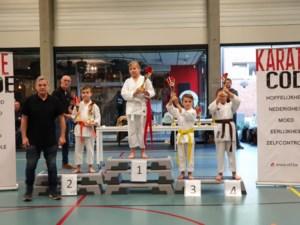 Nakayama dojo behaalt mooi resultaat op Limburgs kampioenschap karate