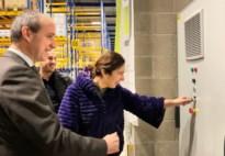 Vrachtwagens leveren energie voor winkels van ToyChamp