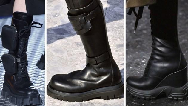 TREND. Futuristische laarzen zoals in 'The Matrix'